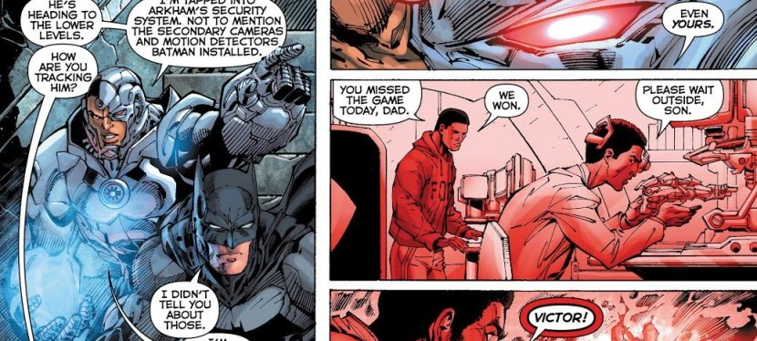 Feat: Cyborg, 'Justice League' #9