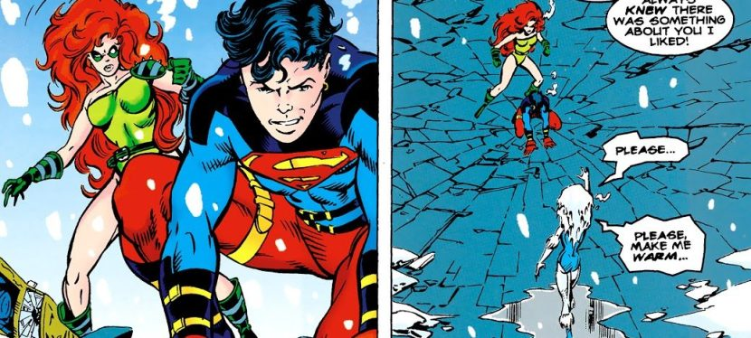 """DC Day: Like """"Fire And Ice,"""" Superboy's and Knockout's Groovy Team-Up Against An Amped Killer Frost"""