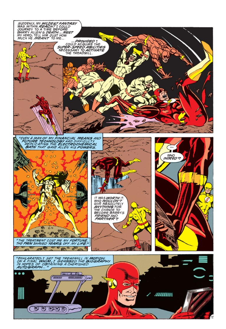 In 'The Flash' (1993) #79, Reverse-Flash reveals he replicated Flash's powers in the 25th century.