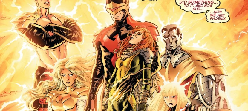 Marvel Day: In The 'AvX' Storyline, The Phoenix Five Cause The Downfall Of Cyclops And Mutantkind