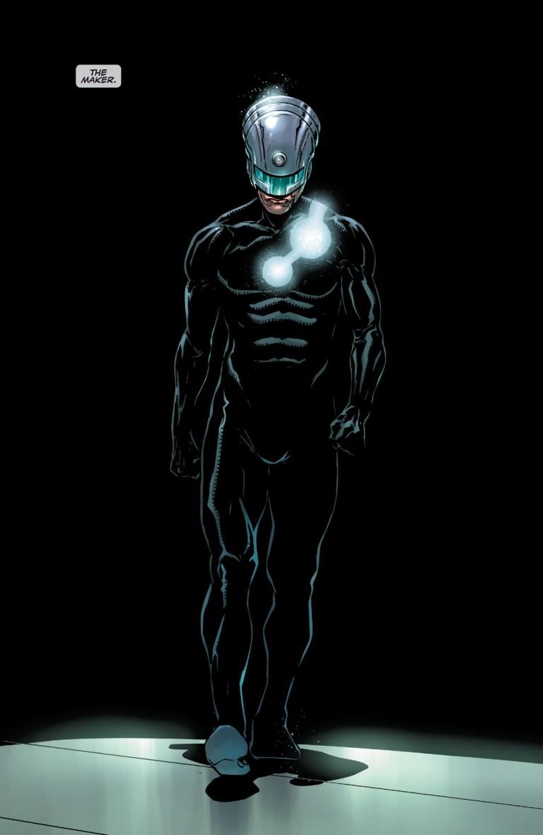 In 'Venom' (2021) #200, Eddie Brock reveals Maker is a multiversal anomaly.