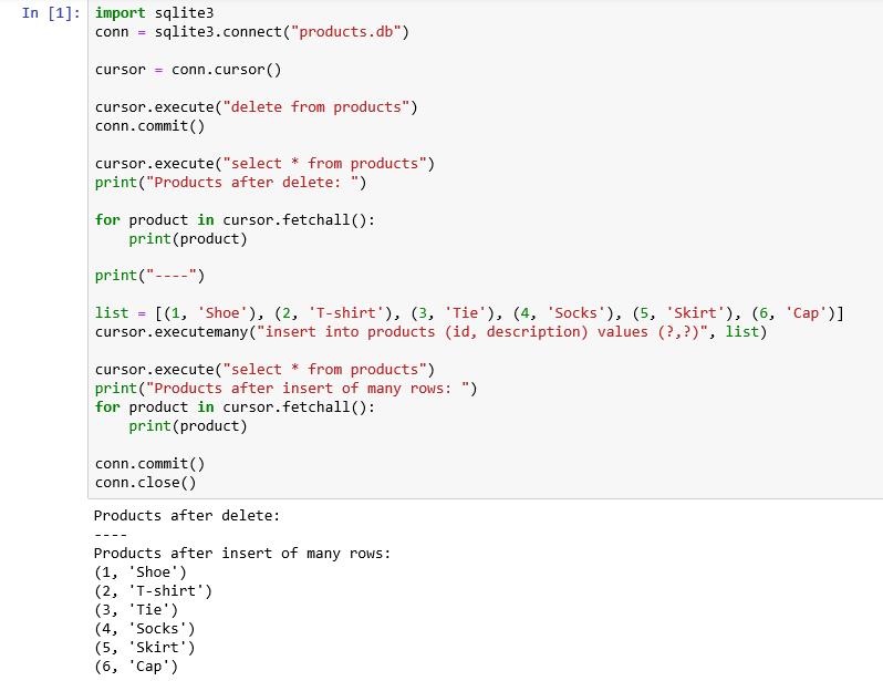 Using SQL in Python - Database Tips