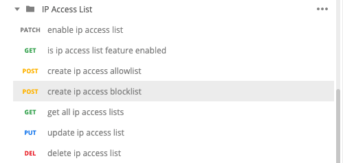 The Azure Databricks IP Access List feature provides admins a way to set `allowlist` and `blocklist` for `CIDR / IPs` that could access a workspace.