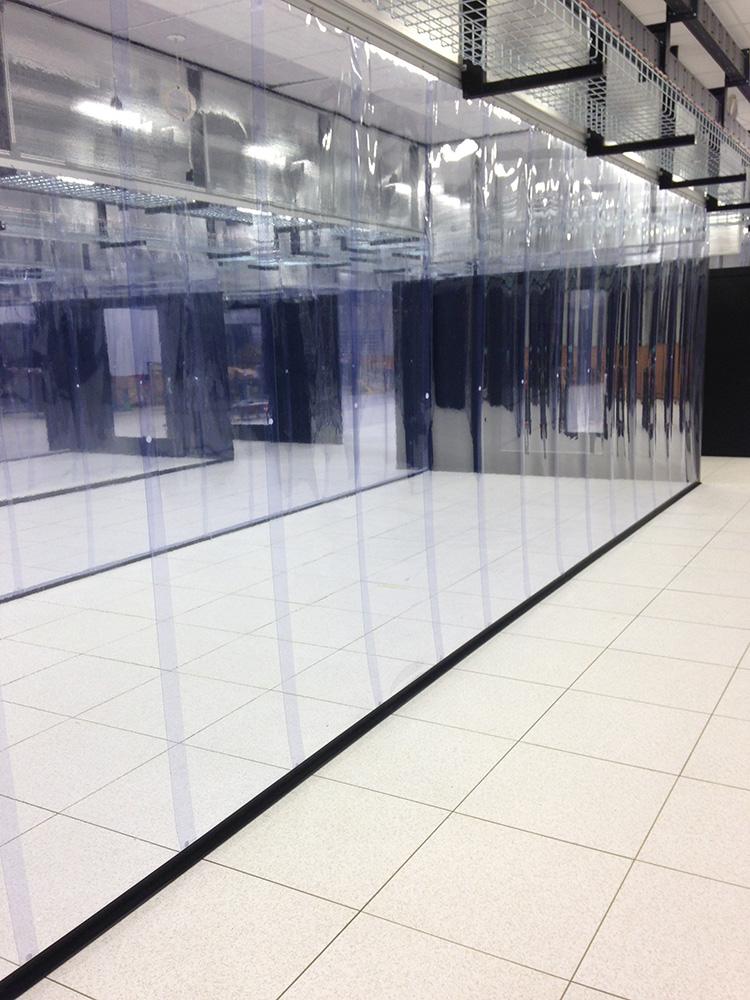 strip wall curtain containment data