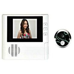 Door peephole camera,0.3 Mega Pixels,4 X digital zoom,One button, easy watching,Door bell