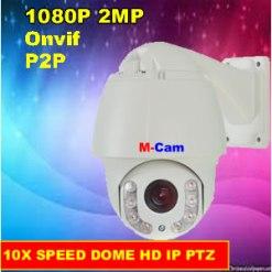 M-Cam DES-PT4BH10XH200 | 2MP Sony IP PTZ Camera with 10X Zoom