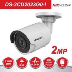 Hikvision DS-2CD2023G0-I 2MP Face Detection H.265+ WDR IP Bullet Camera
