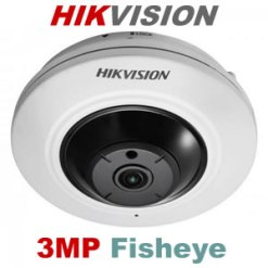 Hikvision DS-2CD2935FWD-I 3MP Network Fisheye Camera