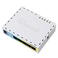 Mikrotik RB750UP 5-Port Switch/Router, 4 POE + 1 USB