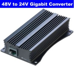 Mikrotik 48 to 24V Gigabit PoE Converter(RBGPOE-CON-HP)
