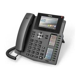 Fanvil X6 20 lines Enterprise Dual-Gigabit port, Color Display Phone,60 DSS Keys with Bluetooth.