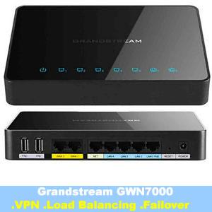 Grandstream GWN7000 Enterprise Multi-WAN Gigabit VPN Router with Load Balancing and Failover