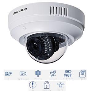 Grandstream HD IP Wide angle Dome Camera (GXV3611IR_HD_v2