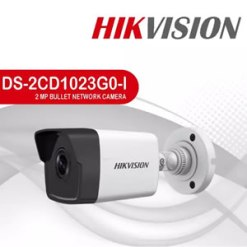 Hikvision DS-2CD1023G0-IU | 2MP IR Network POE Bullet Camera 1080P IR30m with Built-In Microphone