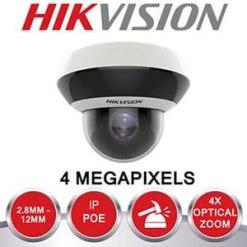 Hikvision DS-2DE2A404IW-DE3 4MP IR Network 4X Indoor/Outdoor PTZ Camera with Audio Input/Output