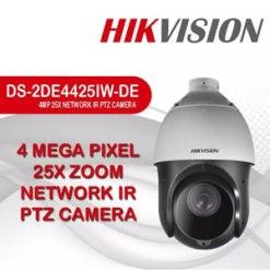 Hikvision DS-2DE4425IW-DE | 4MP 25X Network IR PTZ Camera with Bracket