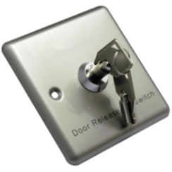 Stainless Steel Access Control Key Switch