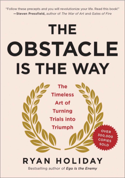 If you want to learn how to reframe obstacles as opportunities this book is a great place to start