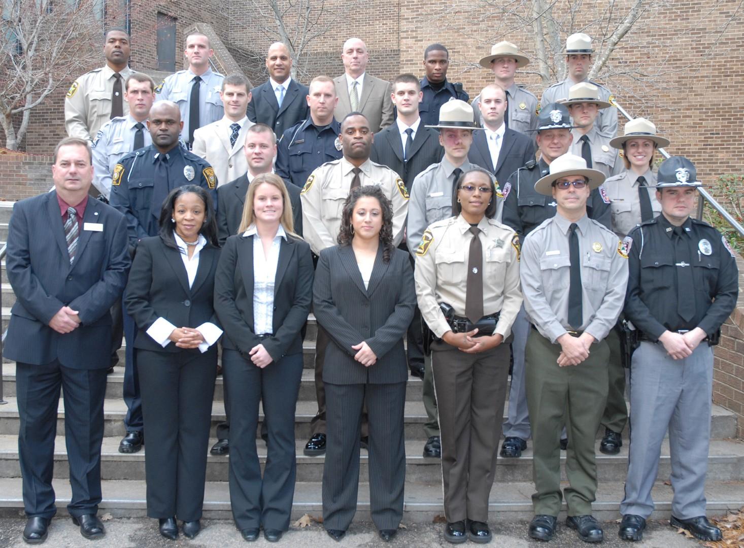 Vgcc Graduates 25 Law Enforcement Cadets In Schools 95th Blet Class