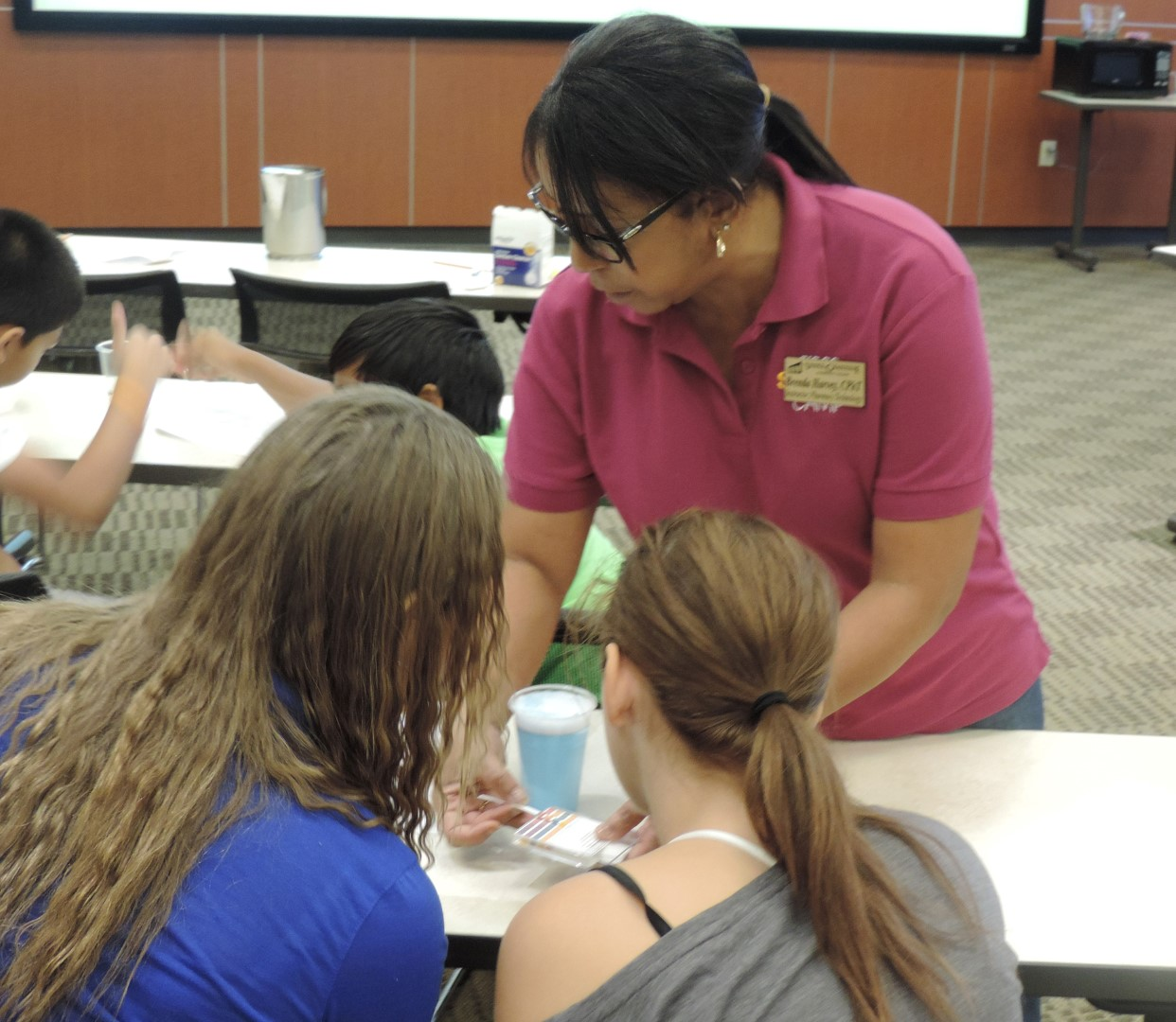 Middle School Students explore Health Careers with VGCC