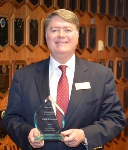 VGCC President's Leadership Award recipient Eddie Ferguson (VGCC photo)