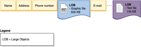 Attack of the Blob! (Blobs in a Transaction Processing