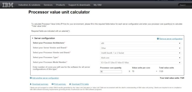 Calculating PVUs for IBM DB2 on Linux – DataGeek blog