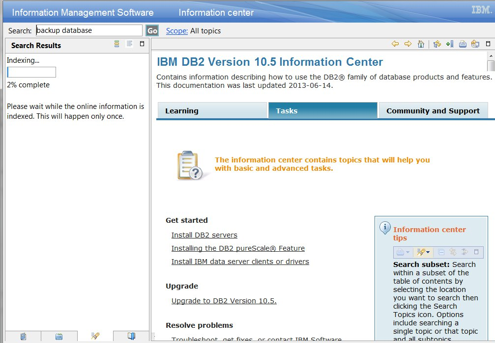 Installing a Local Copy of the IBM DB2 10 5 Documentation