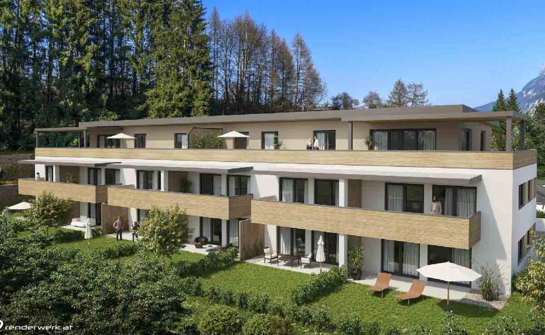 Architektur Wohnanlage Kufstein