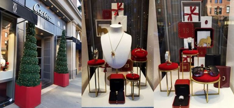 fa0e1d18c552f Christmas Time in the City: Boston Jewelry Stores' Holiday Window Displays