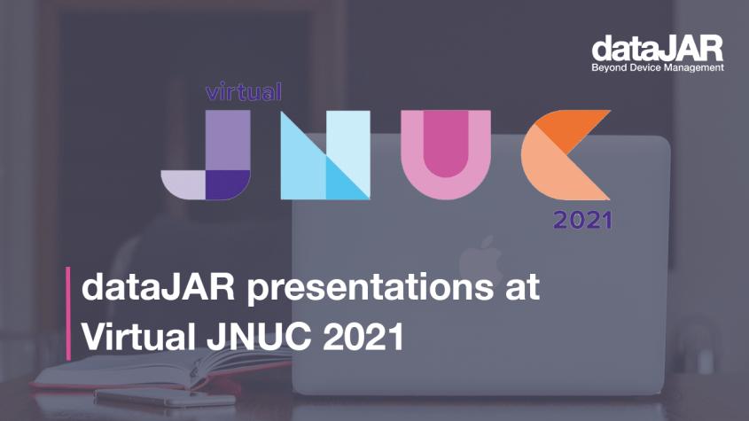 dataJAR presentations at Virtual JNUC 2021