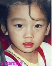 SNSD TaeYeon Kecil 4