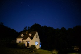 House and Big Dipper