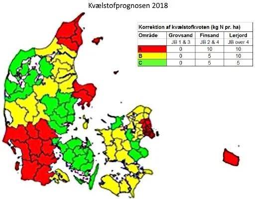 Kvælstofprognosen 2018