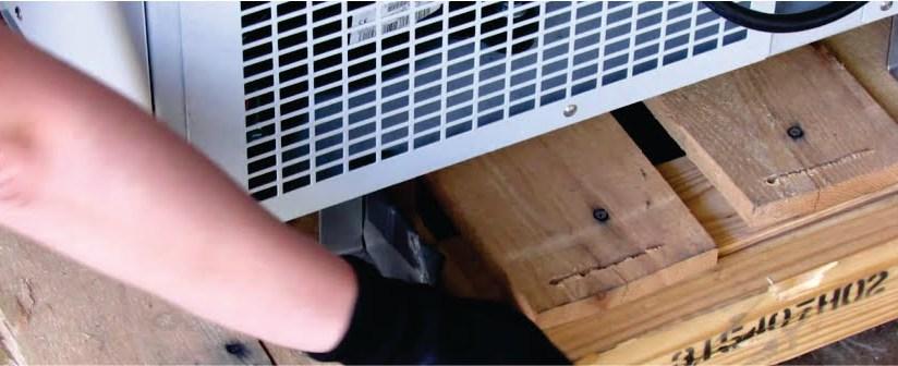 Aprenda a remover seu freezer do pallet!