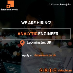 Analytic Engineer in Leominster