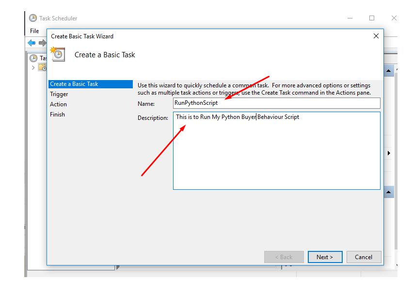 Execute python script from windows command line | Peatix