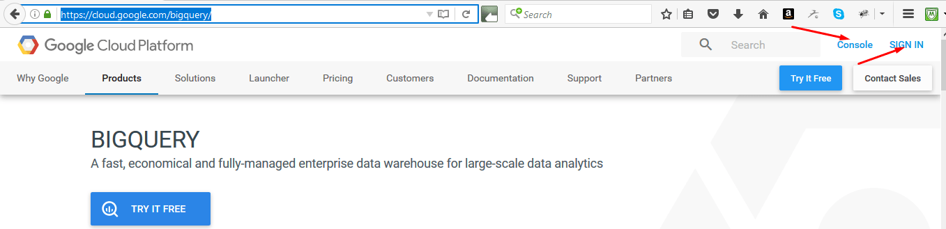 Connect Google Big Query to Talend Open Studio and Pull Data From