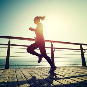 2018 Healthcare Trends, Healthy Lifestyle, Woman running