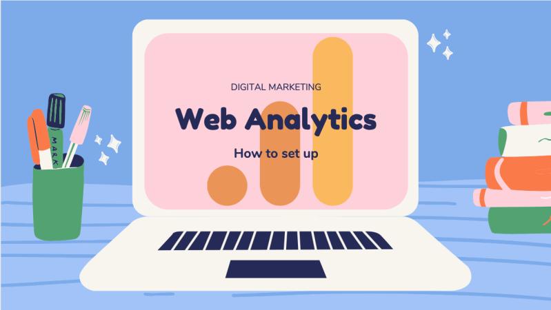 how to set up web analytics
