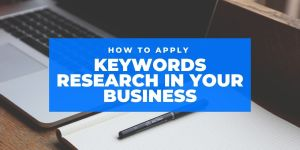 applying keywords research in business
