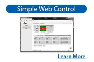 iBoot Features - Simple Web Control