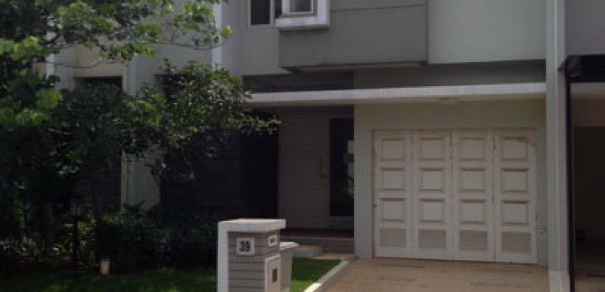 Dijual Rumah Cluster Canary The Spring The Spring Summarecon Gading Serpong