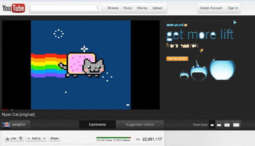 Youtube Cosmic Panda - New Video UI
