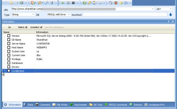 Sharekhan Website Database Vulnerable to Hacking