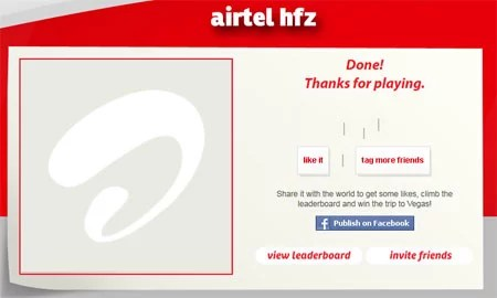 airtel hfz- Submitting and Sharing friends tag