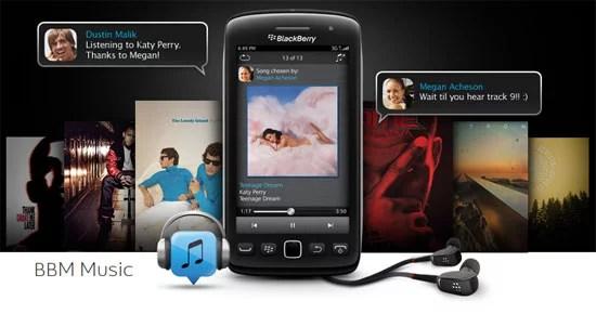 BlackBerry BBM Music Service