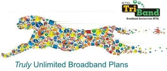 MTNL Freedom 995 Unlimited Combo Broadband plans with 2Mbps Speed