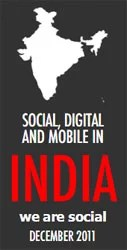 Social, Digital and Mobile Consumption in India [INFOGRAPHIC]