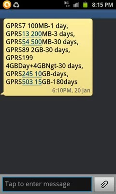 BSNL revised GPRS and EDGE Data plans